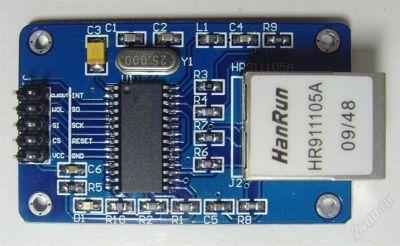 ENC28J60 Ethernet LAN