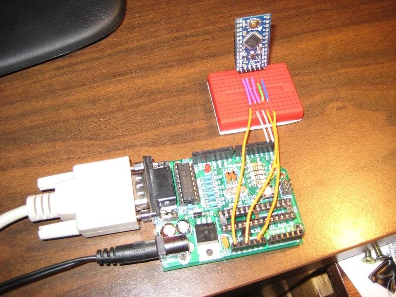 Prog_Arduino Pro Mini